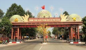 Xe khách Gò Công Tiền Giang đi Phú Giáo Bình Dương