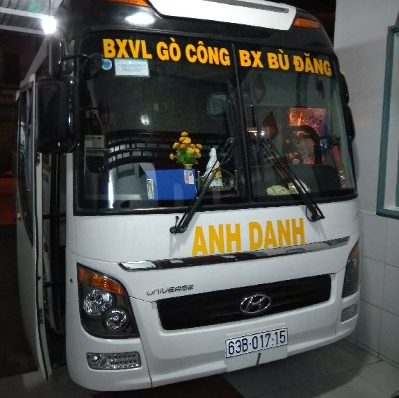 Xe khach Anh Danh